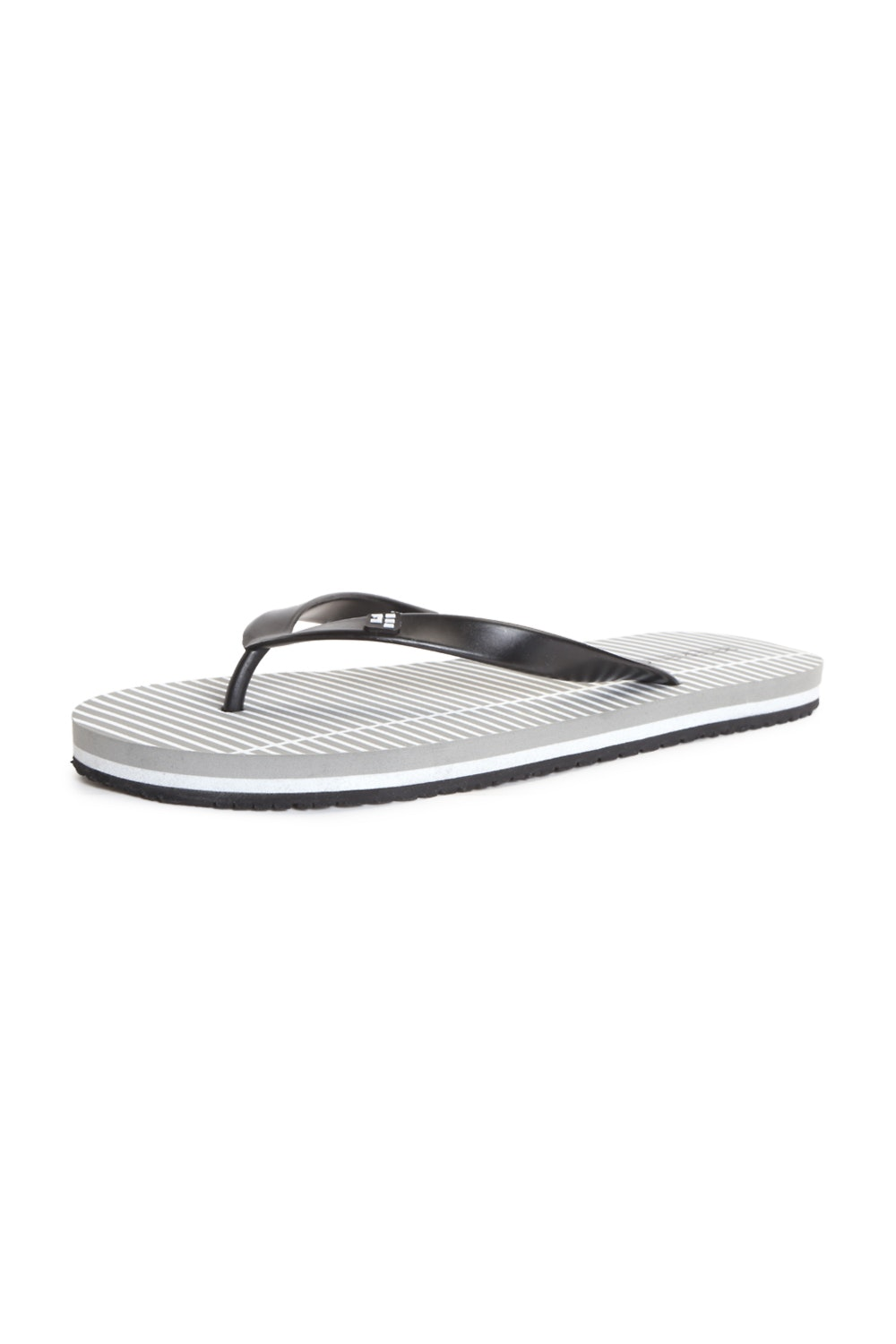 Womens Express Black Cushioned Flip Flops Sandals NWT Size 8