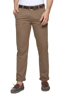 6e4e6f79a Peter England Everyday Trousers - Buy Men Trousers Online ...